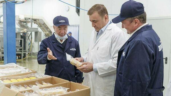 Рыбоперерабатывающий завод открылся под Тулой