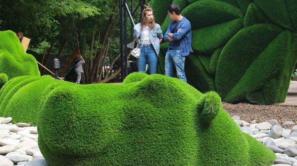 Открытие фантастического пространства Aiva в парке Сказка
