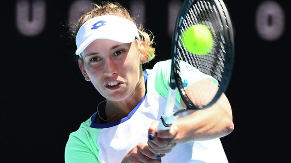 Теннисистка Элизе Мертенс (Бельгия)