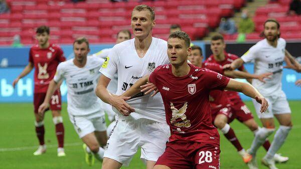 Футболисты казанского Рубина и Урала