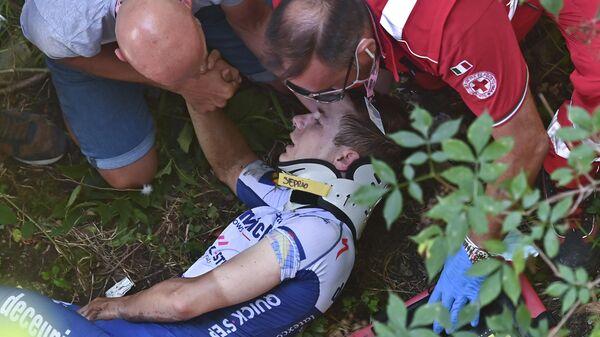 Бельгийский велогонщик Ремко Эвенепул