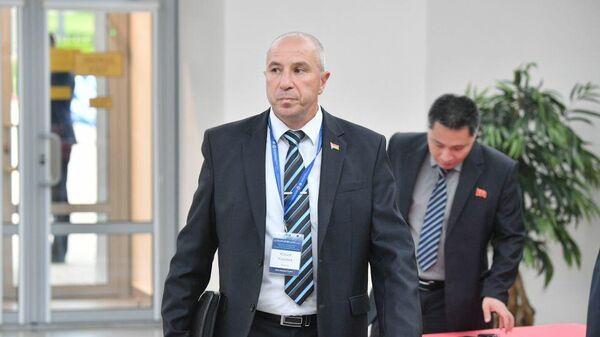 Министр внутренних дел Белоруссии Юрий Краева