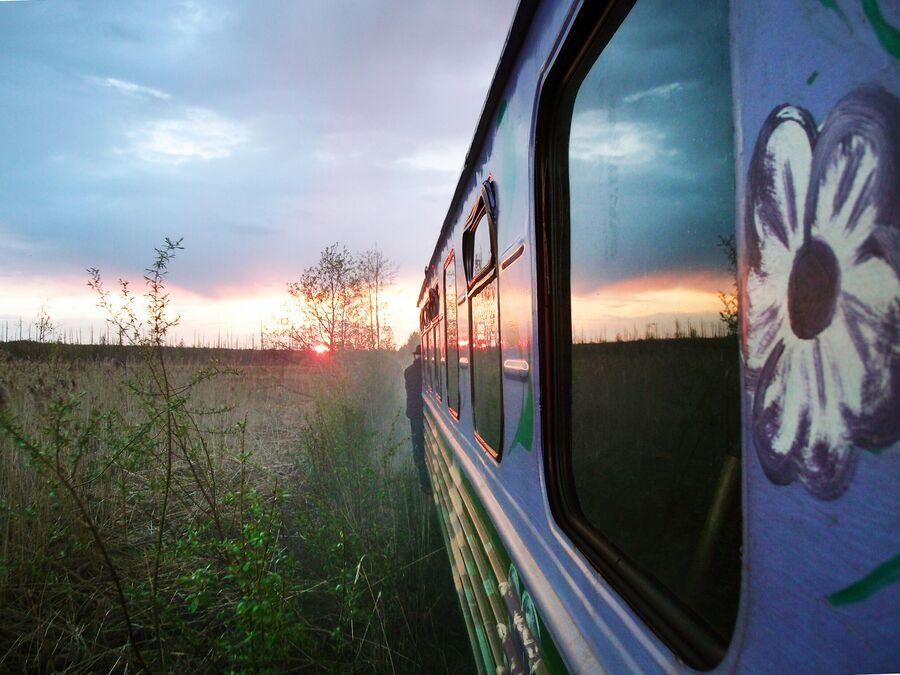 Станция Сойга (поселок Поперечка)