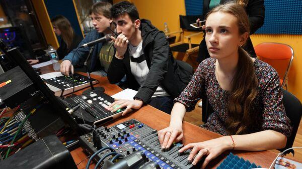 Студенты – представители медиацентров вузов проходят образовательный интенсив от МАСТ