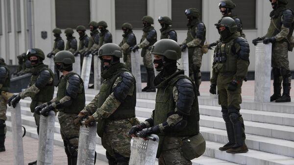 Военнослужащие в Белоруссии