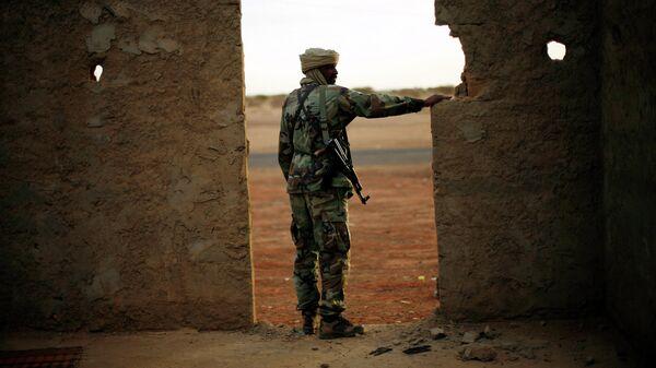 Военнослужащий армии Мали