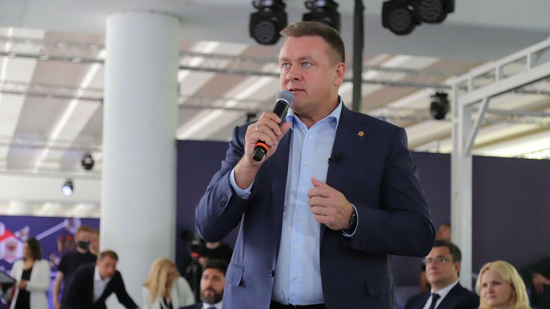 Любимов: проект развития Новомичуринска важен для Рязанской области