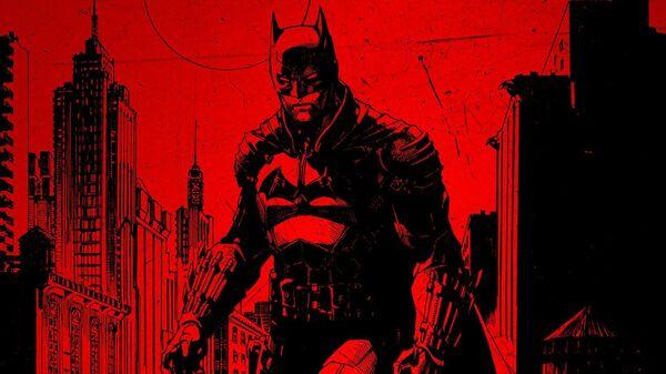 Постер к новому фильму Бэтмен