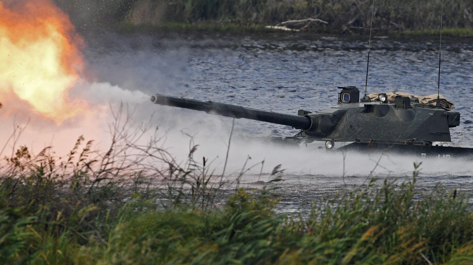 """""""Высокоточные комплексы"""" планируют создать колесный танк со 125-мм пушкой"""