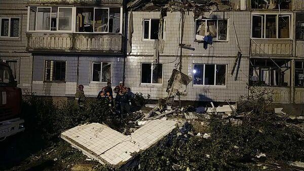 Взрыв газа в живом доме в Ярославле