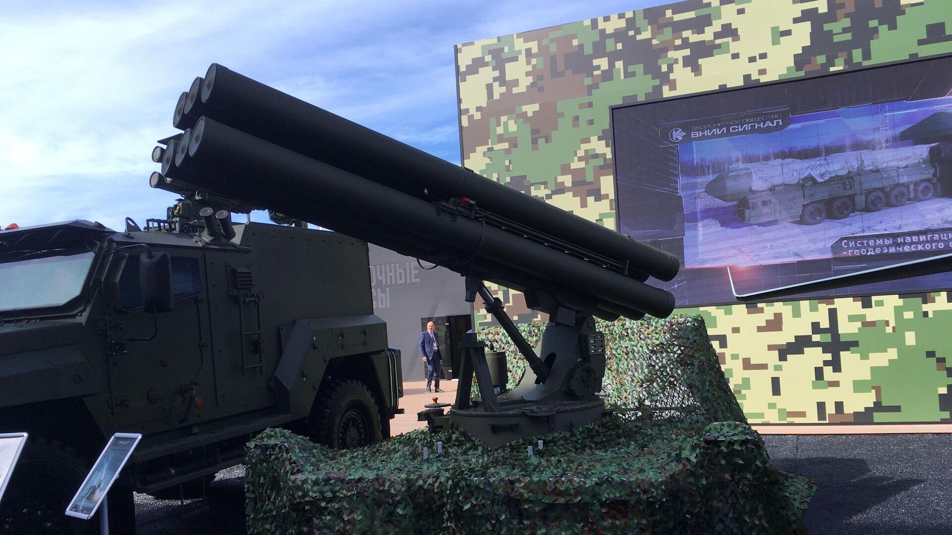 Комплекс управляемого ракетного вооружения Гермес на военно-техническом форуме Армия 2020  - РИА Новости, 1920, 02.02.2021