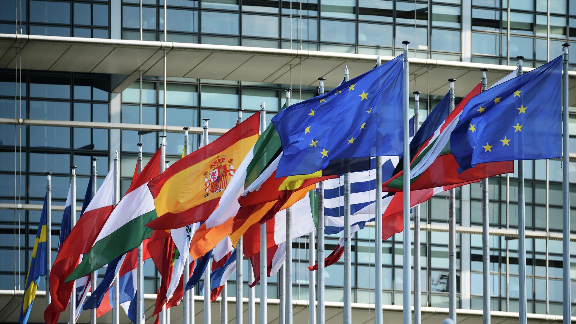 Флаги стран Евросоюза - РИА Новости, 1920, 21.09.2020