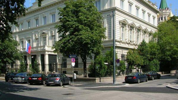Здание посольства России в Вене