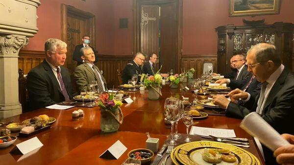 Встреча Сергея Лаврова с первым заместителем Госсекретаря США Стивеном Биганом в Москве