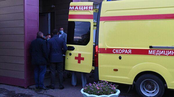 Транспортировка Алексея Навального из омской больницы в Германию