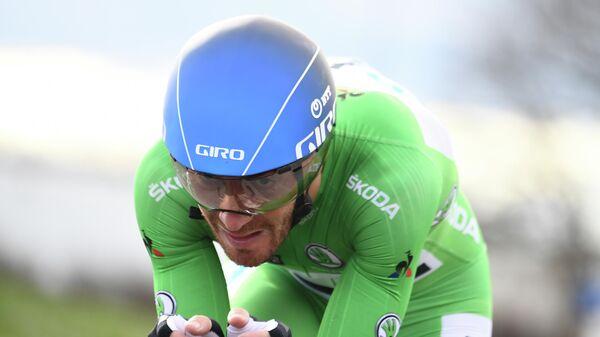 Итальянский велогонщик Джакомо Ниццоло