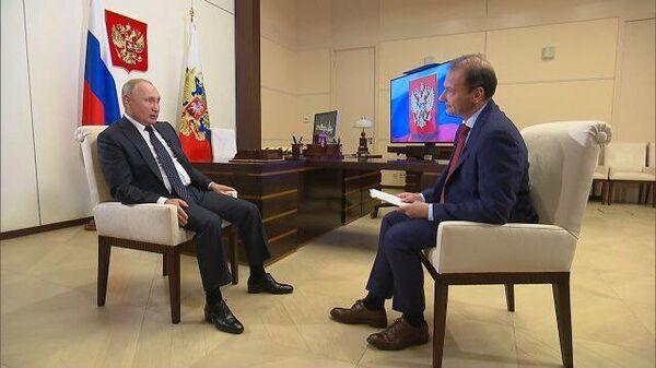 Владимир Путин о задержании россиян в Белоруссии