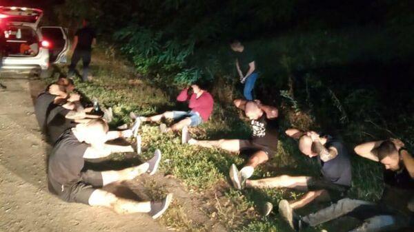 Задержанные за обстрел автобуса под Харьковом, Украина
