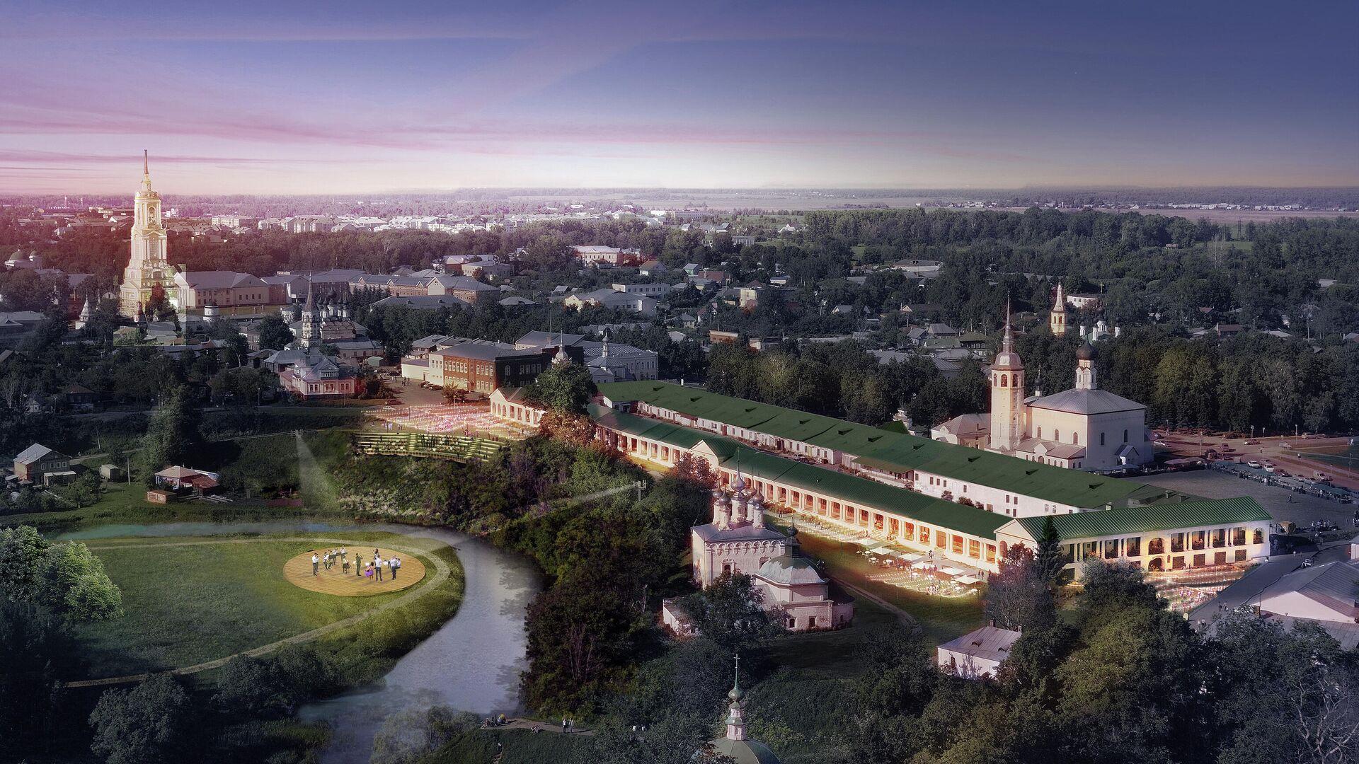 Проект нового административного центра Суздаля - РИА Новости, 1920, 28.08.2020