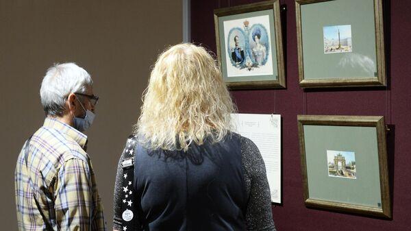 Церемония открытия выставки Императорский дом Романовых. История в гравюрах в Брянске