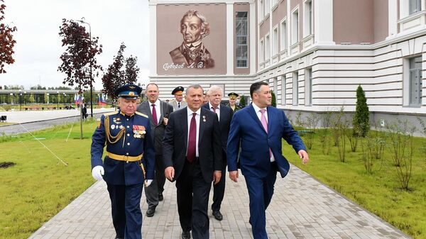 Открытие нового комплекса суворовского училища в Твери