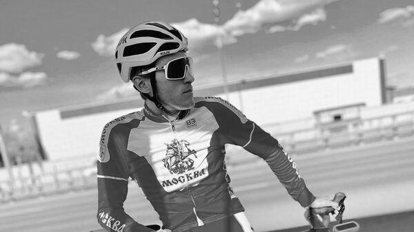 Велогонщик Павел Свешников