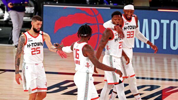Баскетболисты Хьюстона