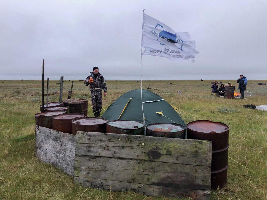 Укрепление лагеря