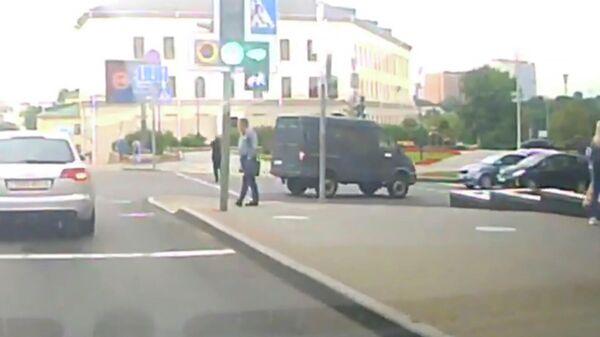 Кадр видео, распространенного КС в связи с исчезновением Марии Колесниковой