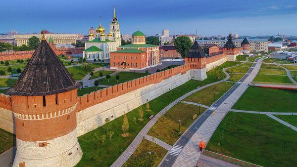 Тульский кремль и Казанская набережная