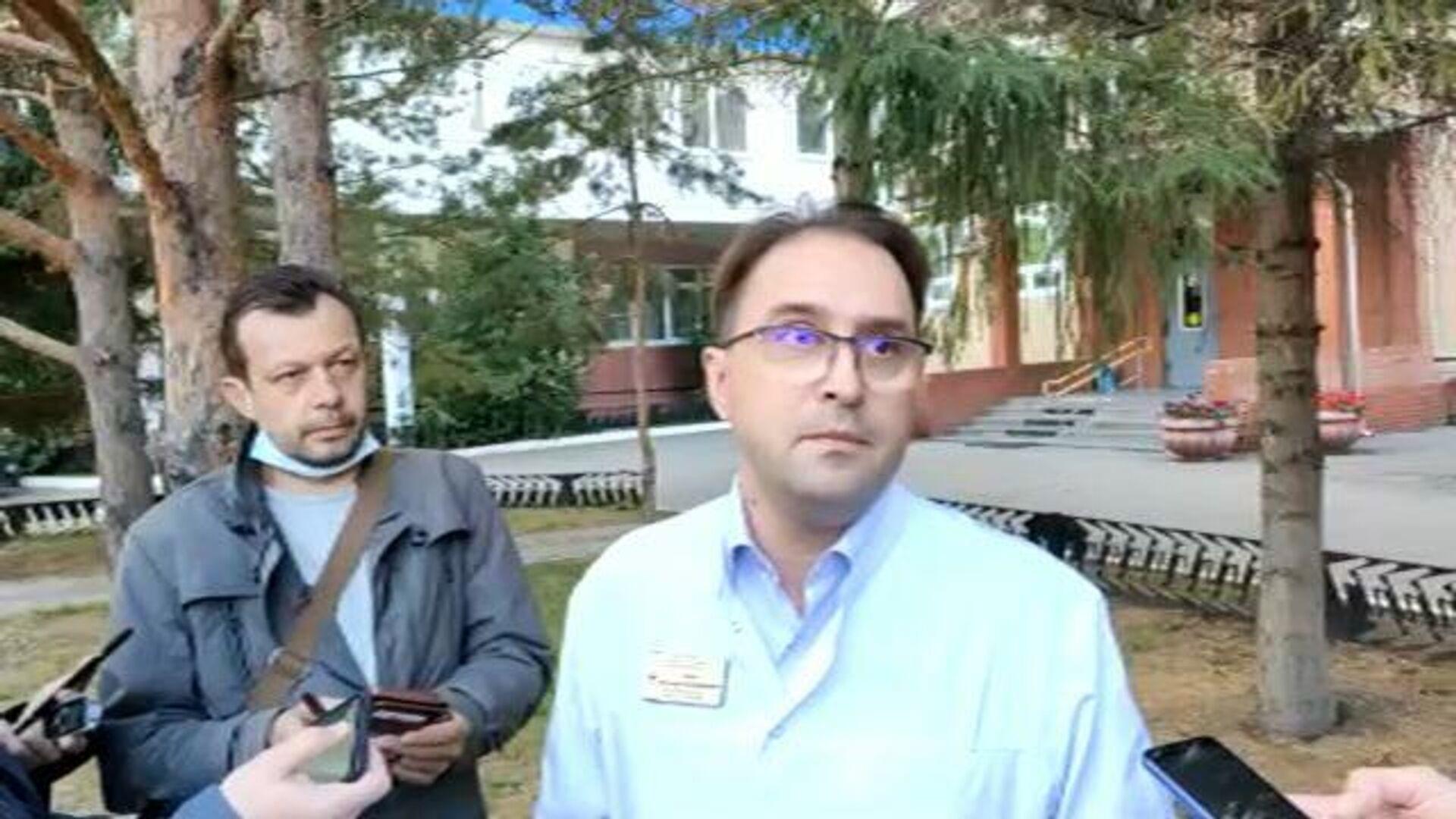 Не было отравления – главный токсиколог Омской области о причине состояния Навального - РИА Новости, 1920, 08.09.2020