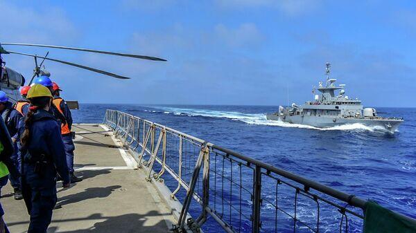 Военные учения вооруженных сил Греции и ОАЭ недалеко от греческого острова Крит