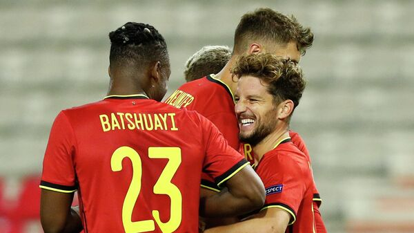 Нападающий сборной Бельгии Дрис Мертенс