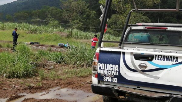 Место обнаружения тела журналиста Хулио Вальдивиа в штате Веракрус, Мексика