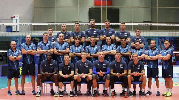 Волейболисты санкт-петербургского Зенита