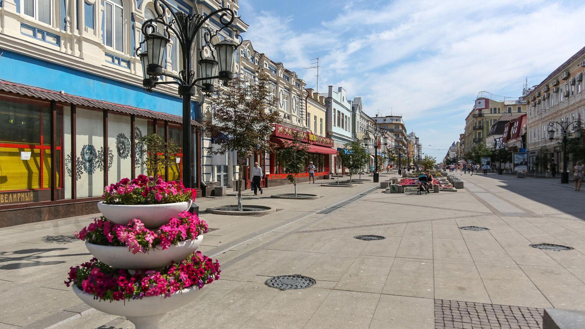 Ленинградская улица в Самаре - РИА Новости, 1920, 19.09.2020