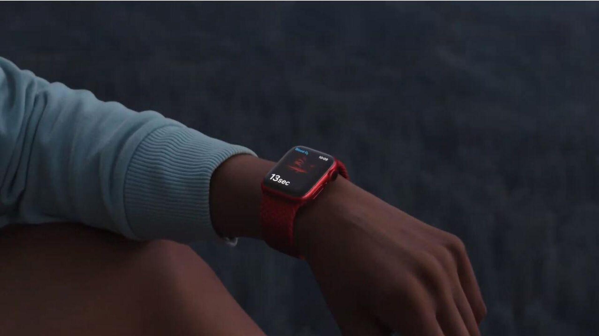 Apple Watch Series 6 - РИА Новости, 1920, 15.09.2020