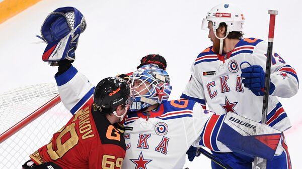 Хоккей. КХЛ. Матч Авангард — СКА
