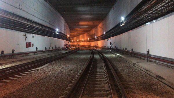 Железнодорожный тоннель рядом с аэропортом Внуково