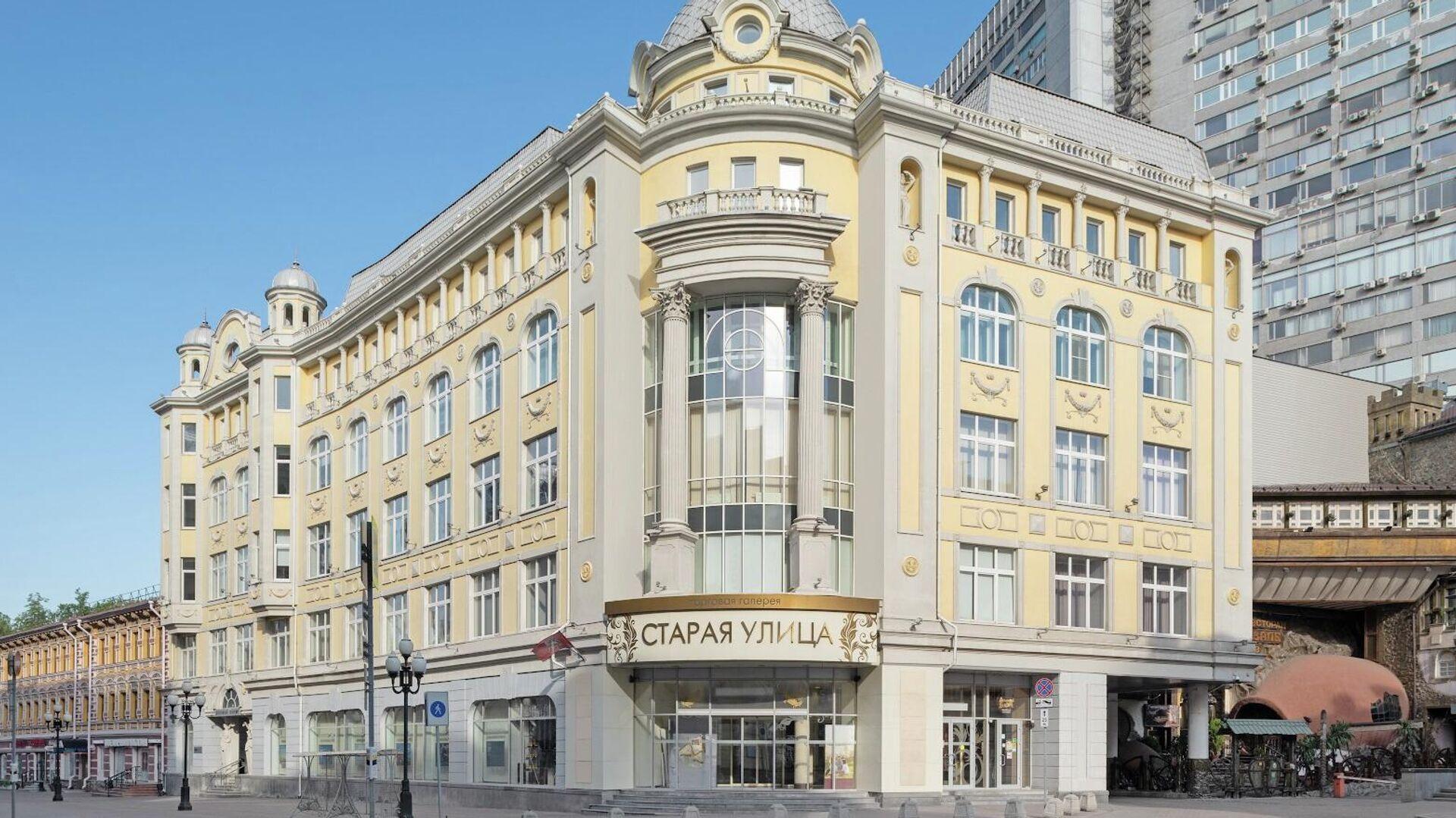 Бизнес-центр Midland Plaza на Арбате в Москве - РИА Новости, 1920, 16.09.2020