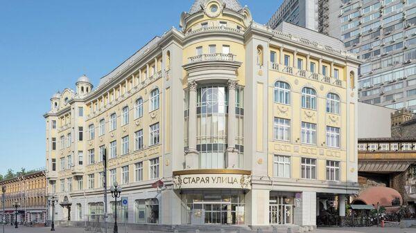 Бизнес-центр Midland Plaza на Арбате в Москве