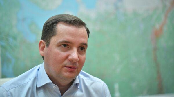 Временно исполняющий обязанности губернатора Архангельской области Александр Цыбульский