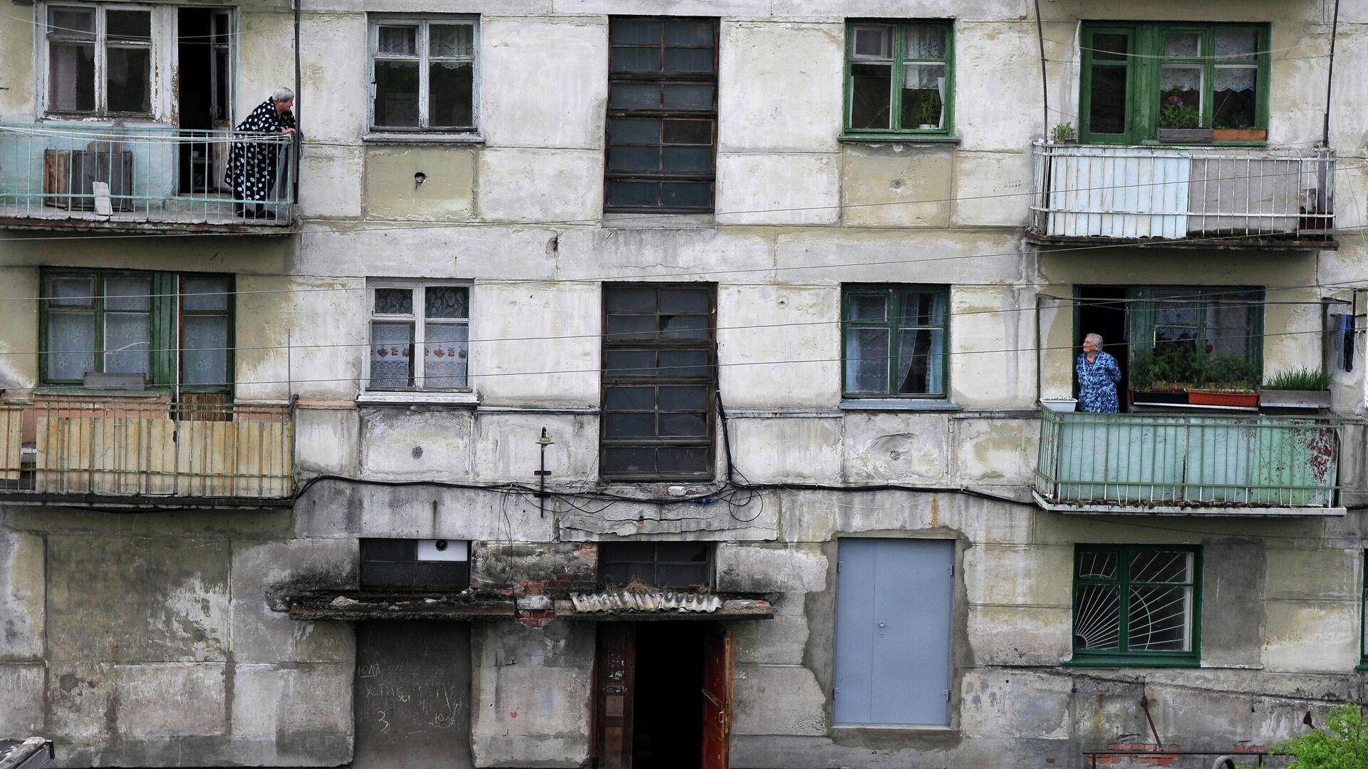 Жилой дом в городе Кемь Архангельской  области - РИА Новости, 1920, 09.10.2020