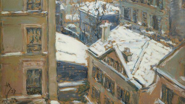 Якунчикова-Вебер М.В. 1870-1902. Париж зимой. 1893