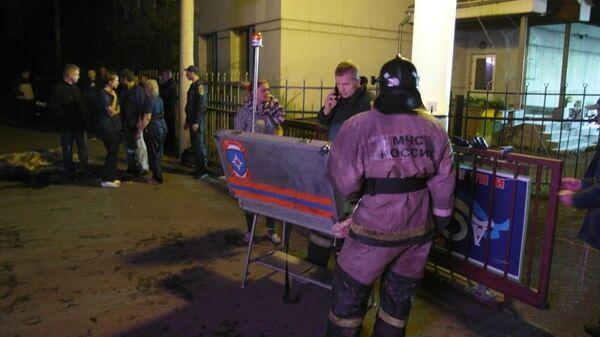 Пожар в частной наркологической клинике в Красноярске