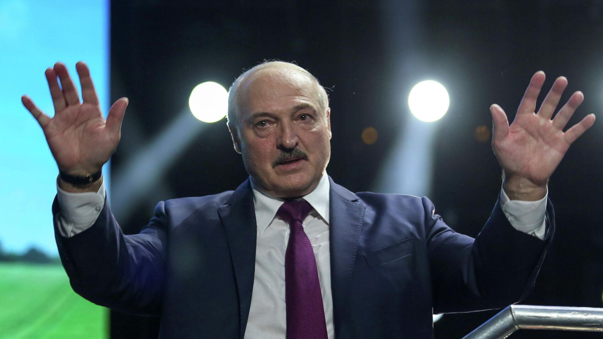 Президент Белоруссии Александр Лукашенко - РИА Новости, 1920, 18.09.2020