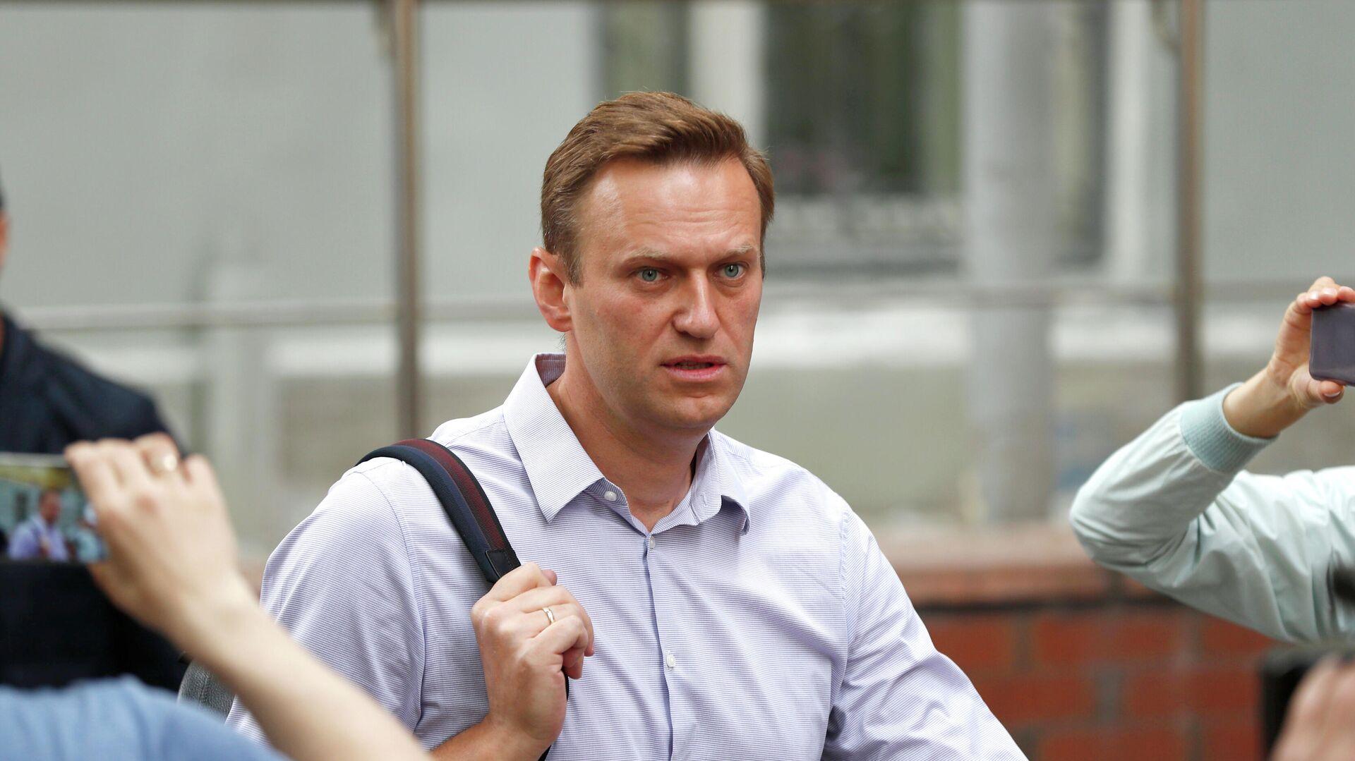 Алексей Навальный - РИА Новости, 1920, 18.09.2020
