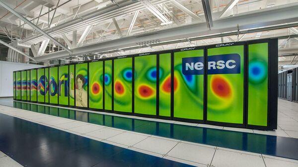 Суперкомпьютер Cori в Национальном вычислительном центре энергетических исследований США (NERSC), на котором производились расчеты