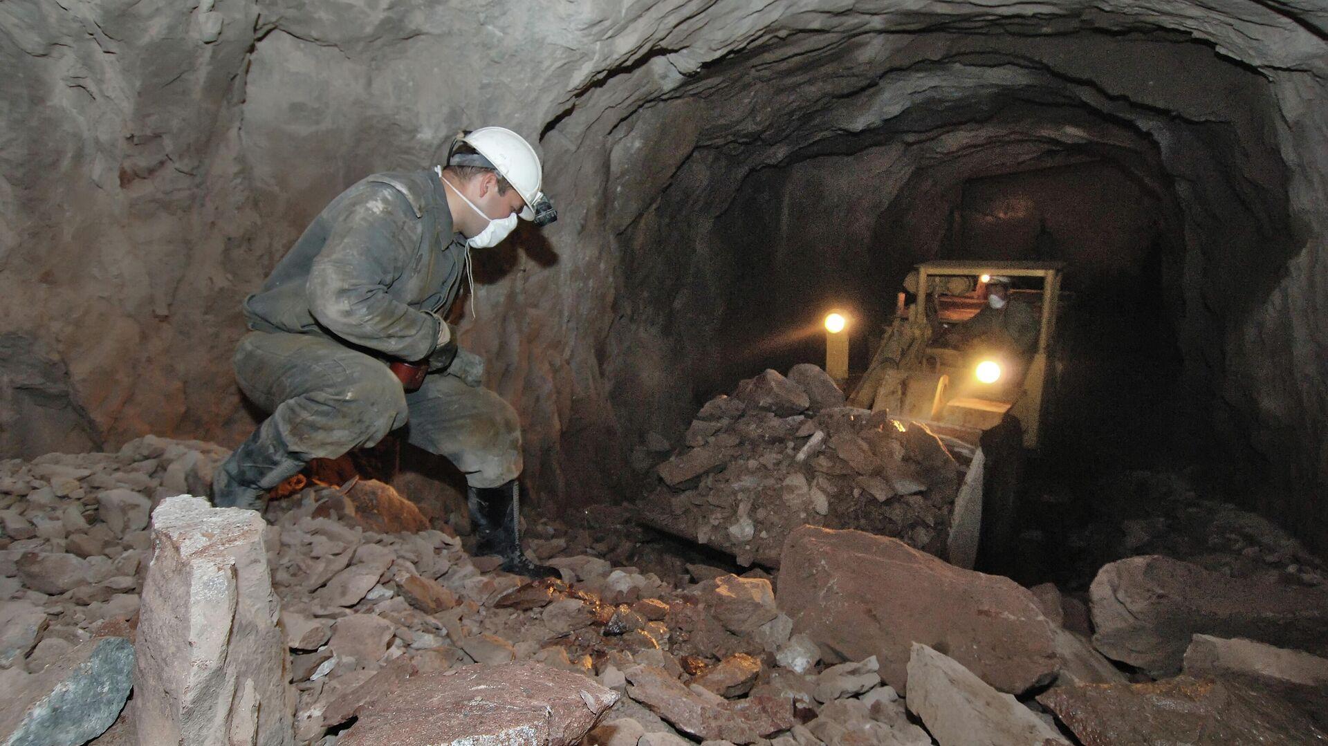 Добыча урановой руды - РИА Новости, 1920, 20.09.2020
