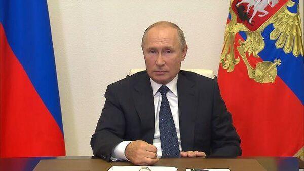 Путин рассказал, что лично присутствовал на первом пуске Авангарда
